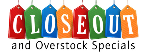 Closeout And Overstock Sales