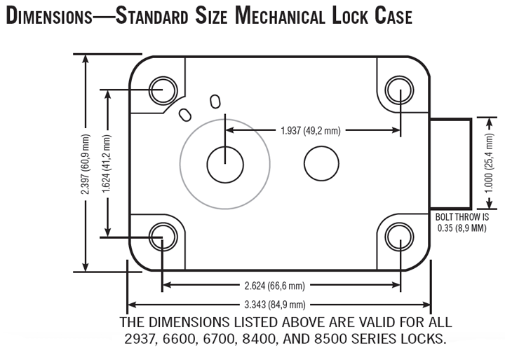 sargent and greenleaf 6730 010 group 2 combination lock only rh edlocks com